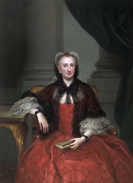 Retratistas del siglo XVIII en el Museo del Prado [Vol. I] Mar%C3%ADa+Amalia+de+Sajonia+(Mengs,+Anton+Rafael)