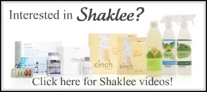 My Shaklee Videos...Check them out!