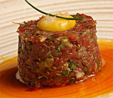STEAK TARTARE- FLOR DE SAL