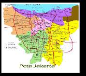 Peta Lokasi Hotel di Jakarta