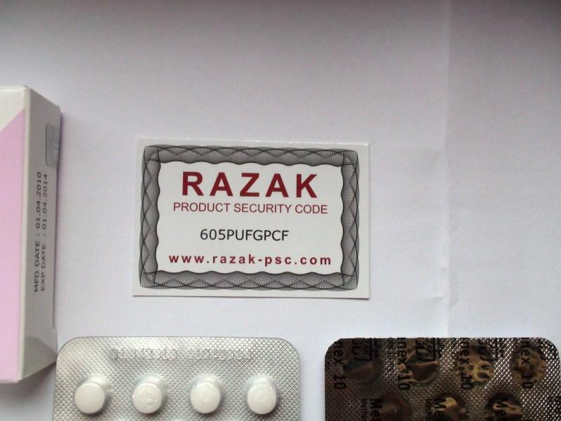 dbol pill color