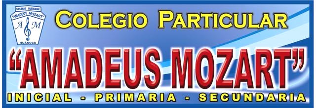 """Colegio Particular  """"Amadeus Mozart"""""""