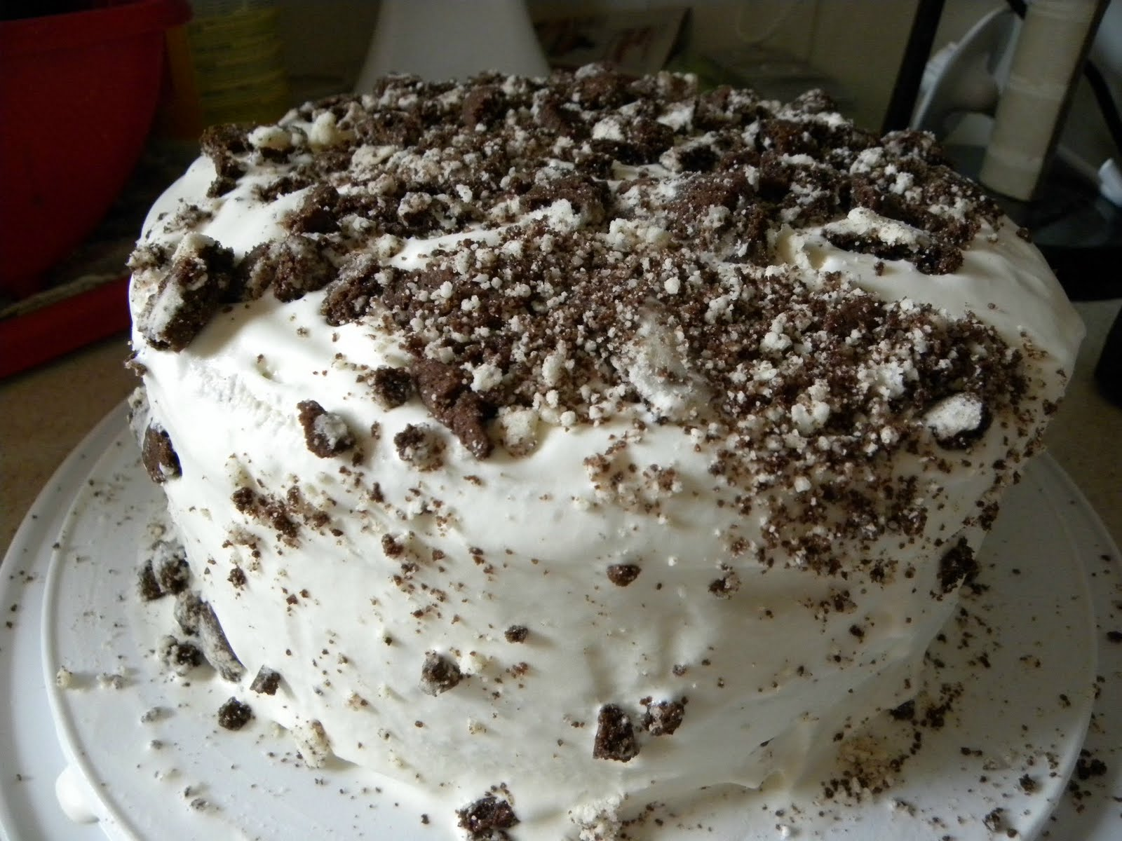 Cookin' with Super Pickle: Oreo Mint Ice Cream Cake