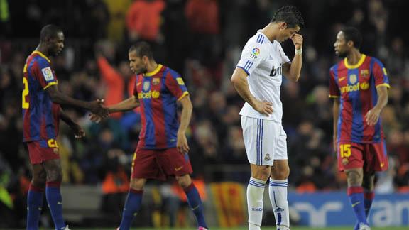 TU PASION DEPORTIVA: Barcelona humilla al Real Madrid en el Clásico..