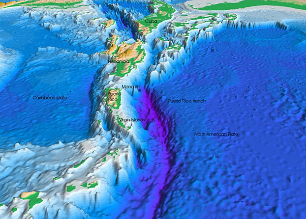 Sea Floor Elevation Map : Lots of maps bathymetric map