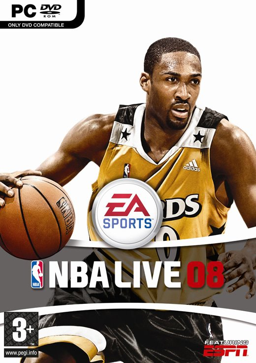 NBA Live 2008 + Crack