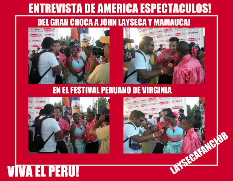ENTREVISTA DE AMERICA ESPECTCULOS