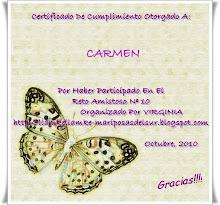 Certificado Reto nº 10