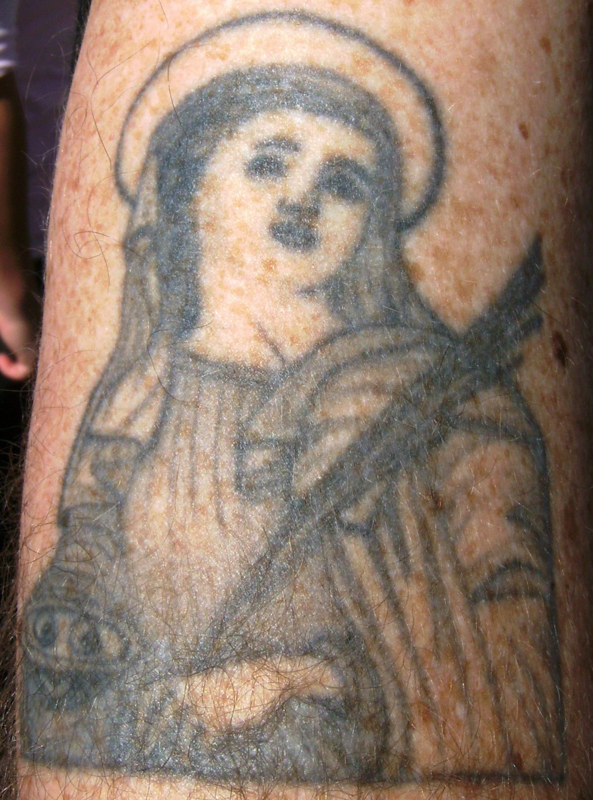 Christianity Tattoo-maria tattoo