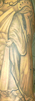 Tattoosday a tattoo blog jesse 39 s religious experience for Masterpiece tattoo staten island
