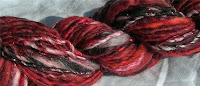Red Twilight Handspun Yarn