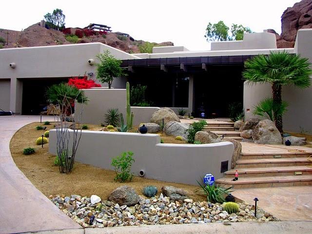 arizona landscaping phoenix arizona landscape remodel desert landscape weaved with mediterranean. Black Bedroom Furniture Sets. Home Design Ideas