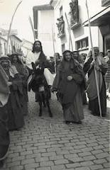 Primera procesión Domingo de Ramos (1956).