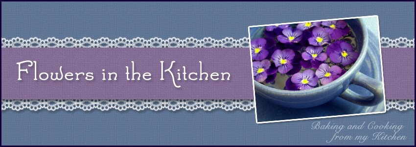 Flowers in the Kitchen
