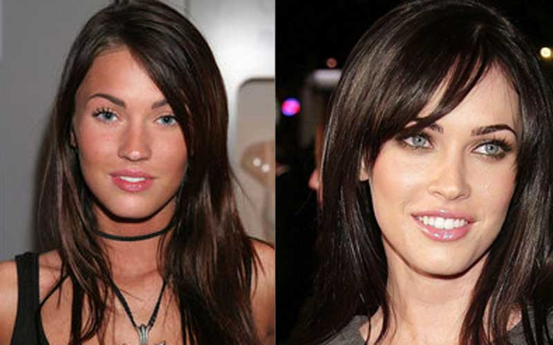 celebs without makeup megan fox. Megan Fox