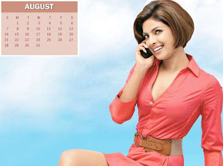 New Year Calendar 2011 - August