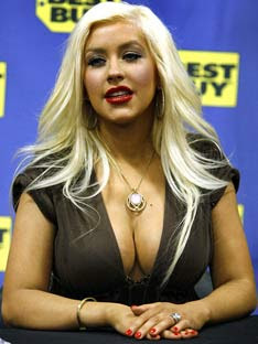 Christina Aguilera loves being a mother