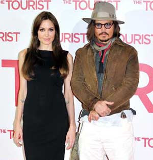 Johnny Depp impressed by 'normal' Angelina Jolie