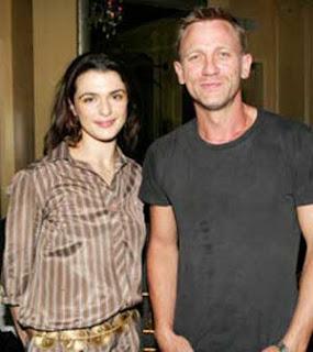 Hollywood Actor Daniel Craig, Rachel Weisz an item?