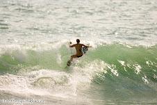 Kristin Surfing