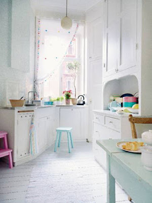 Sweet Color Kitchen Interior Designs