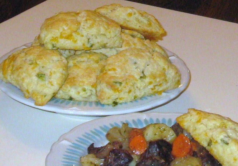 Cooking with K: Jalapeno-Cheddar Scones