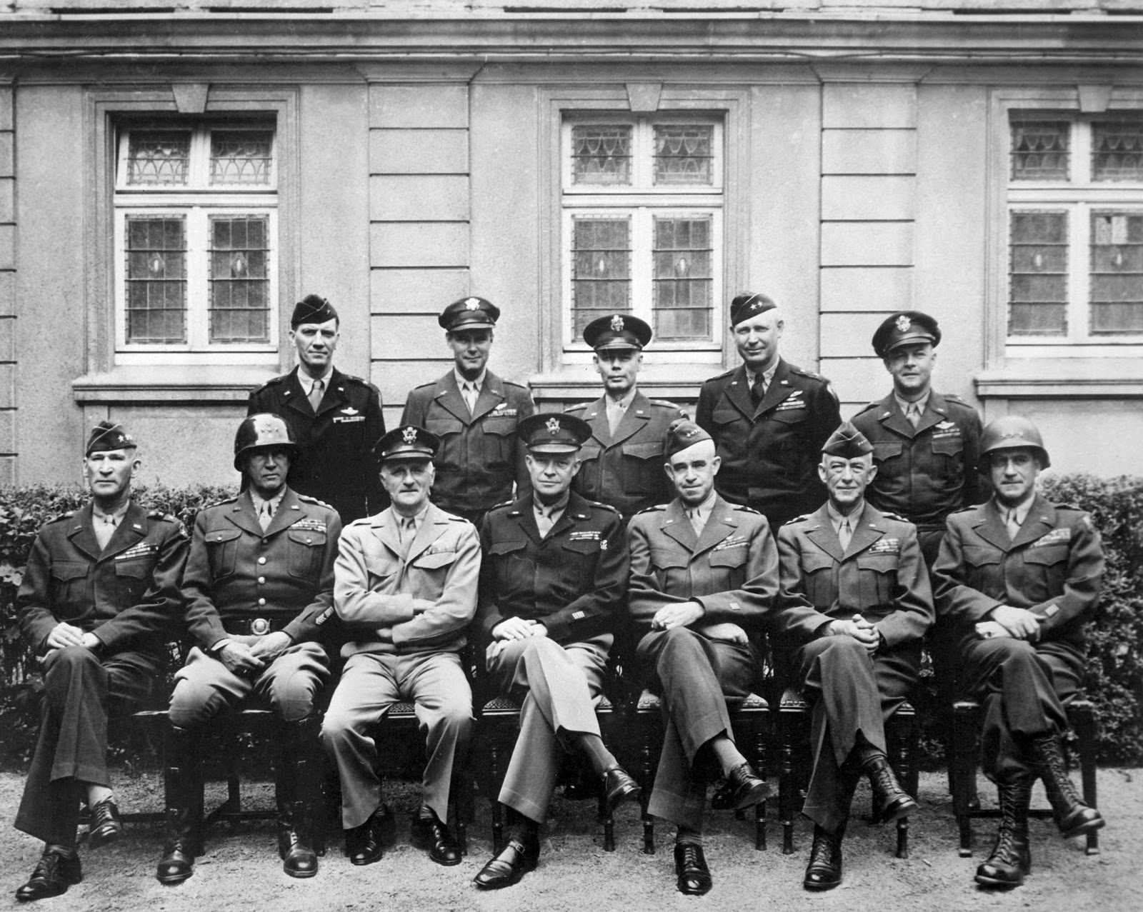 general history germans allied countries during wwii