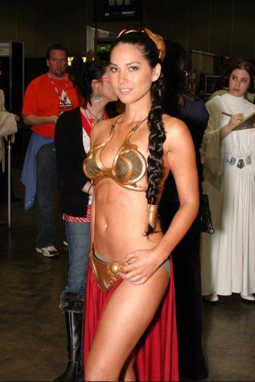 princess leia slave cosplay. Princess Leia and The Metal