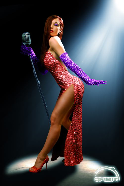 God Bless Jessica Rabbit! Bonus. For a cool video on how the very top ...