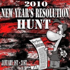 NEW YEAR'S RESOLUTION HUNT