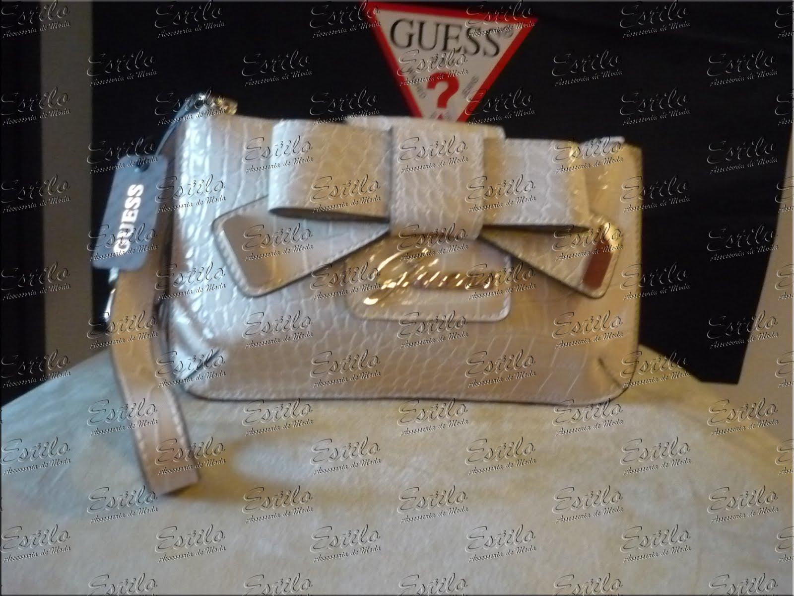 Bolsa De Mão Guess Preço : Bolsa carteira la?o guess estilo assessoria de moda