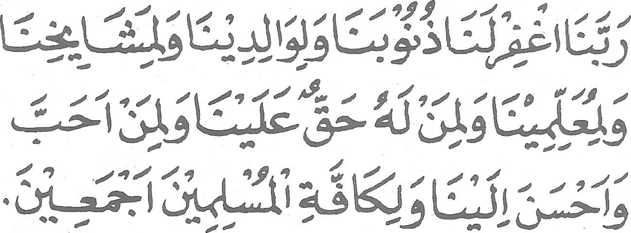 Bacaan Doa Sesudah Sholat Dan Artinya