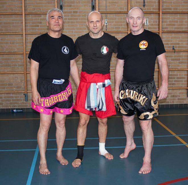Grandes Entrenadores de Muay Thai, ahora tambien practican Muay Boran