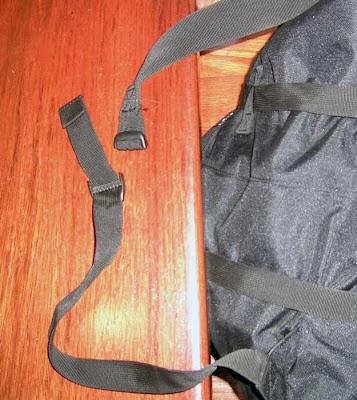 mochila cuerda escalada