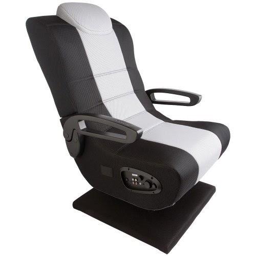 video game rockers x rocker commander pedestal gaming chair. Black Bedroom Furniture Sets. Home Design Ideas