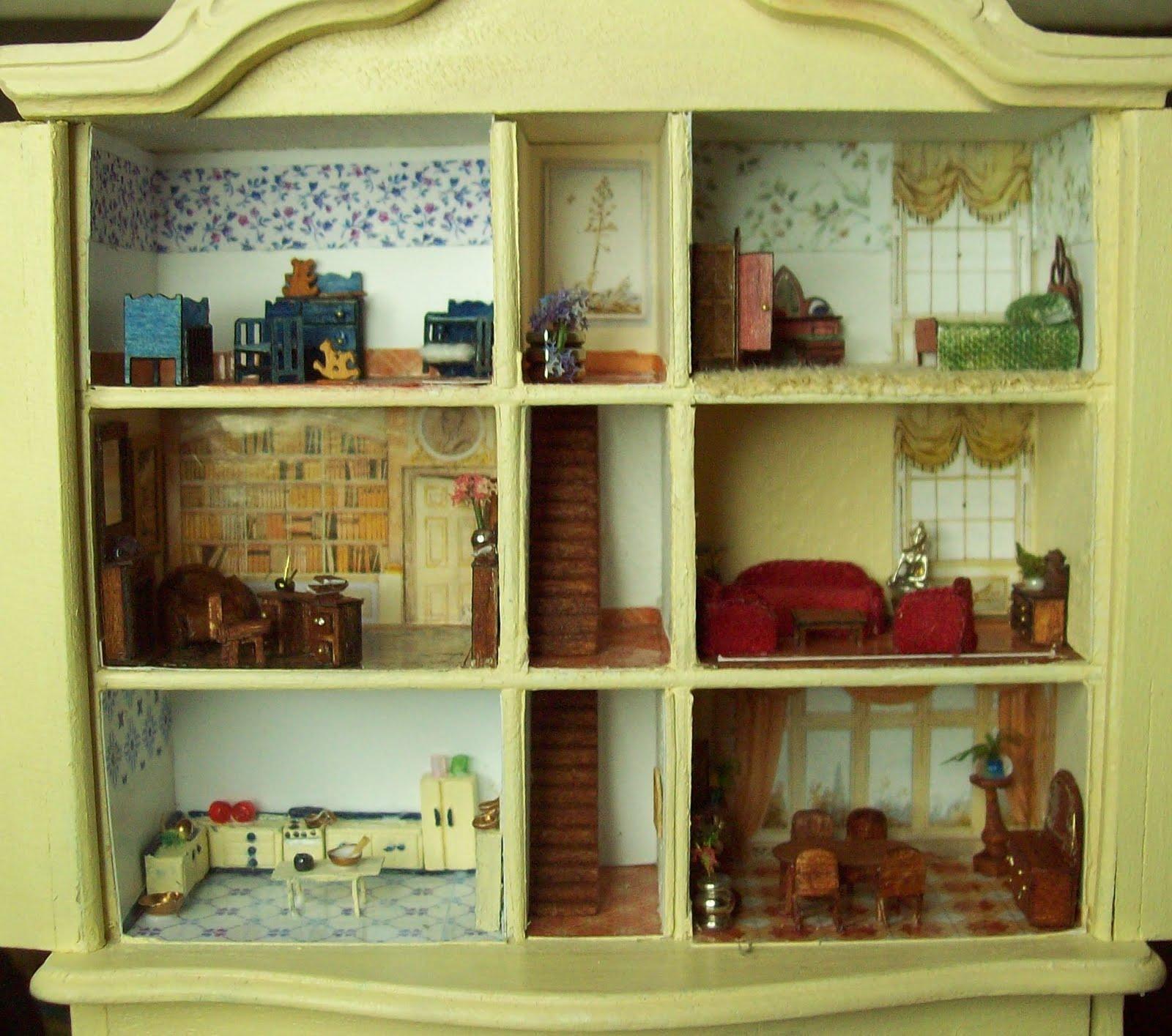 Construir tu casa en miniatura mayo 2010 - Casas en miniatura de madera ...