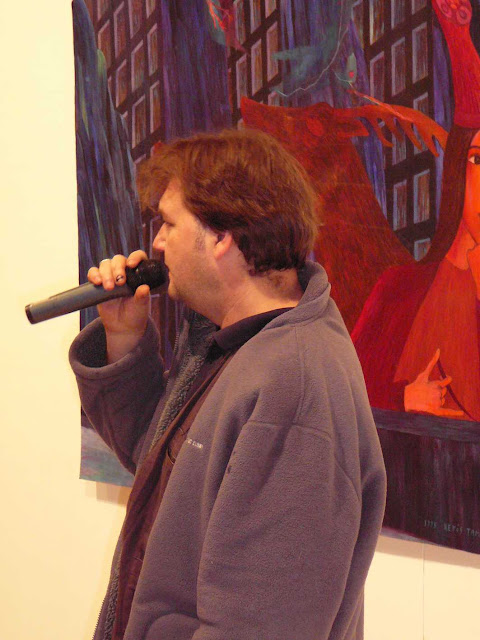 - Kettős Tamás kiállítása - Vadszamarak koncert , 2009. 12. 03. , Vác , MIMK -