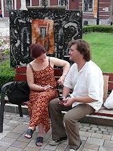 """"""" Aranykor """" , Installáció , Váci Világi Vígalom , 2008.  Kettős Tamás - Cs. Nagy András - CSNB"""