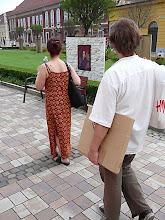 """"""" Aranykor """" , Installáció, Váci Világi Vígalom , 2008. Kettős Tamás - Cs. Nagy András - CSNB"""