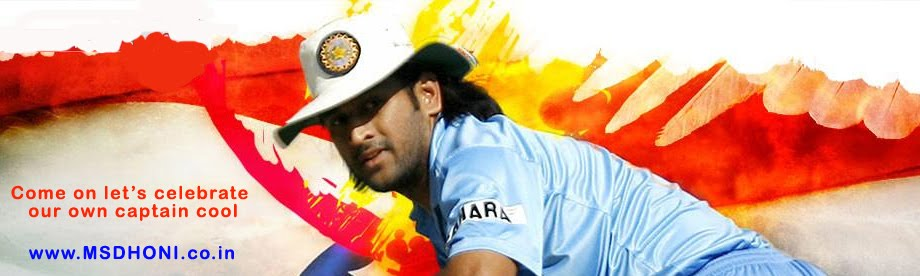 Mahendra Singh Dhoni - The Captain Cool