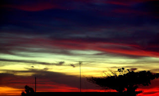 Sunset over Mamba Point