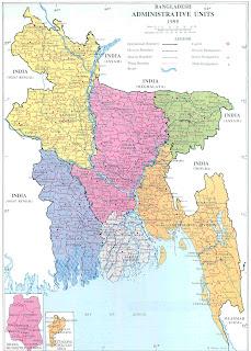 Dhaka maps of dhaka city and bangladesh transport system l bangladesh population density r bangladesh administrative map gumiabroncs Image collections
