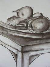 Dibujos en carbonilla