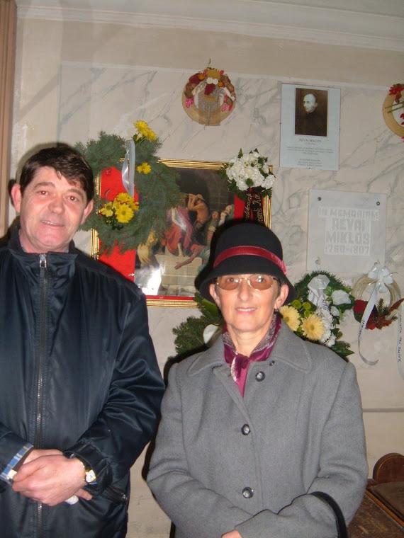 Prof.Margaret Velcsov si preotul Biserici romano-catolice