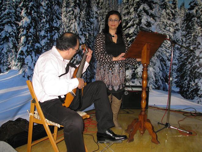 LATIDOS CON ALMA. Recital poético, Aurora Gámez acompañada de Rafael Sánchez a la guitarra.