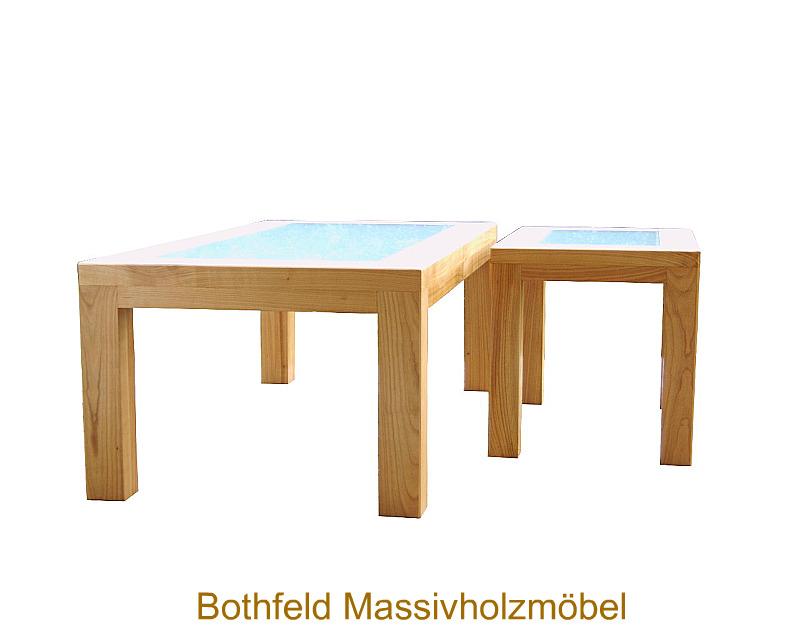 Bothfeld massivholzm bel wohnzimmertisch beistelltisch for Wohnzimmertisch kirschbaum