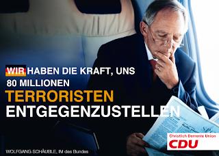 Wir haben die Kraft, uns 80 Mio Terroristen entgegenzustellen.