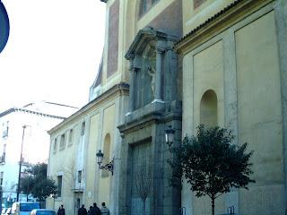 Fachada de la iglesia de San Sebastián