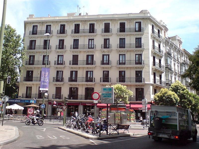 Madrid sus viejas calles bilbao glorieta de for Ceip llamados