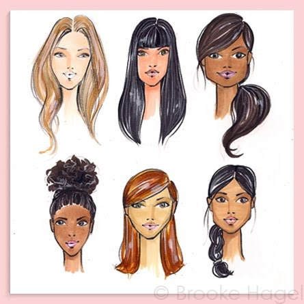 fabulous doodles fashion illustration